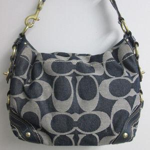 Carly Purse Blue Denim Shoulder Bag